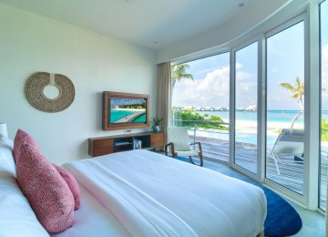 ©LUX_North_Male_Atoll_Beachvilla_Schlafzimmer