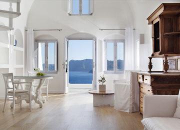 Luxus Suite mit Meerblick ©Katikies Santorini