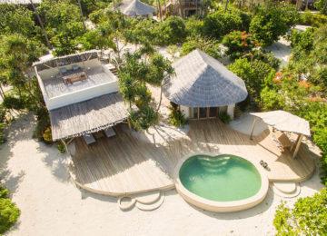 1 Beachfront One Bedroom Villa©White Sand Luxury Villas _ Spa Zanzibar