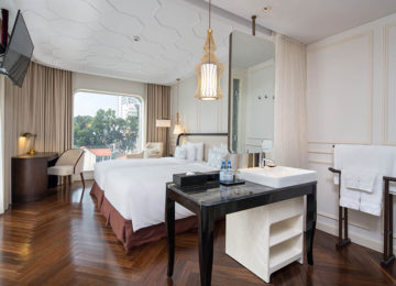 1 Deluxe Twin ©Hotel des Arts Saigon – MGallery Collection