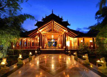 1 Lobby©Aureum Palace Hotel Inle Lake Lobby