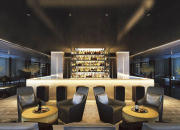1 Scenic Eclipse – Lobby Bar © Scenic Cruises