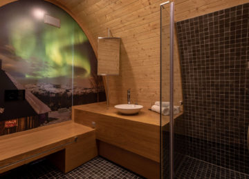 Gamme Northern Light cabins Snowhotel Kirkenes