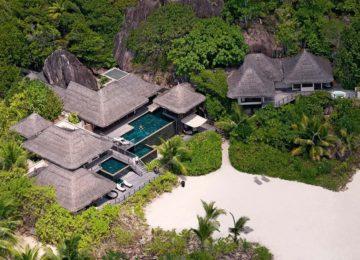Private Presidential Villa Constance Lemuria Resort Praslin, Seychellen