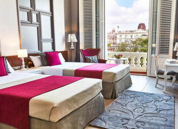 2 Deluxe Twin Room Kempinski Grand Hotel Manzana © Kempinski Hotels
