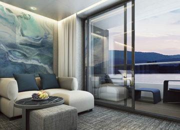 2 Scenic Eclipse – Verandah Suite Living Area © Scenic Cruises