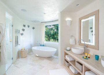 Villa mit 3 Schlafzimmern Badezimmer©Hotel Romazzino