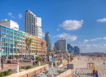 3Tel Aviv Beach Promenade © GoIsrael