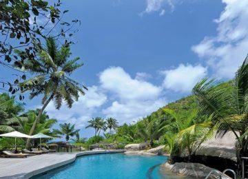 Constance Lemuria Resort Praslin, Seychellen