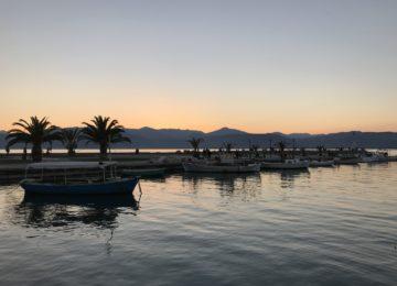 Nafplio Sonnenuntergang ©Galileo Luxuskreuzfahrt
