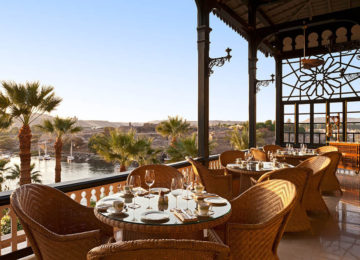 Ägypten_Assuan_Luxus_Sofitel Legend Old Cataract_Restaurant©AccorHotels
