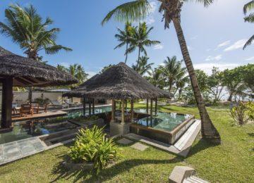 Pool Villa Constance Lemuria Resort Praslin, Seychellen