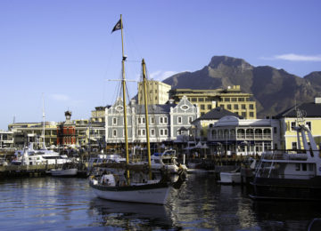 Suedafrika Kapstadt Hafen
