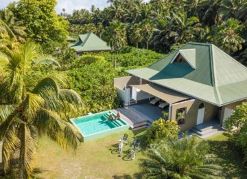 Alphonse Island Resort©overview-of-beach-suite-and-pool