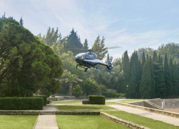 Aman Sveti Stefan, Montenegro – Heli Landing at Villa Milocer