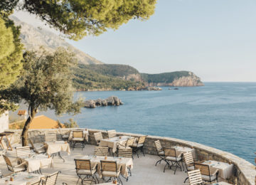 Aman Sveti Stefan, Montenegro – Piazza Restaurant