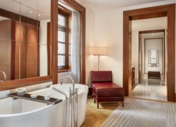 Aman Sveti Stefan, Montenegro – Queen Marija Suite bathroom