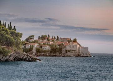 Europa – Montenegro, Hotel Aman Sveti Stefan