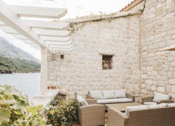 Aman Sveti Stefan, Montenegro – Three Bedroom Cottage, Terrace