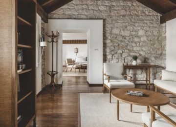 Aman Sveti Stefan, Montenegro – Two Bedroom Suite, Living Roo