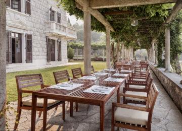 Aman Sveti Stefan, Montenegro – Villa Milocer, Loggia Terrace