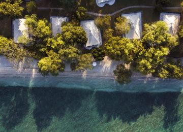 Amanwana, Bali – Birdseye Property View