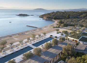Beach Club Amanzoe Peloponnes, Griechenland