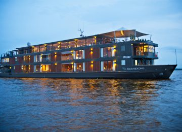 Luxusreise Select Luxury Travel Mekong Aqua Mekong Exterior View – Low Resolution