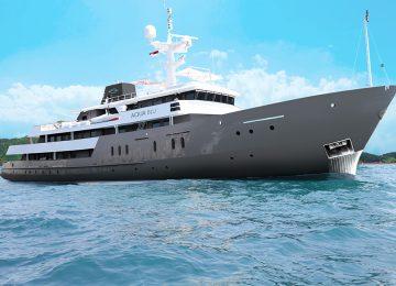AquaBlu- Ambon und die Gewürzinseln-Luxuriöse Kreuzfahrt-von Bali zum Komodo nationalpark-Aqua Blu-Raja Ampat-Expeditionskreuzfahrtschiff
