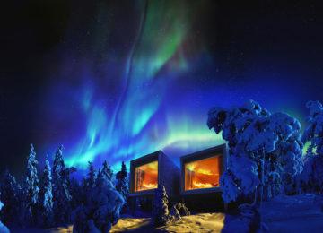 Artic TreeHouse Hotel Finnland Lappland Northern Lights
