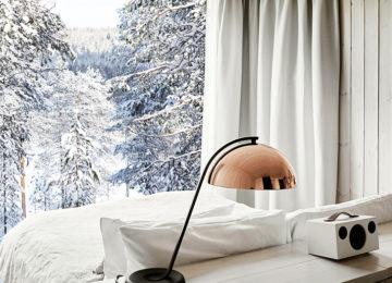 Artic TreeHouse Hotel Finnland Lappland©View aus dem Zimmer
