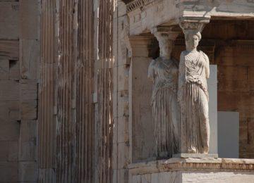 Athen Skulpturen