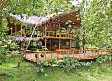Außenansicht,4★ Hotel Pacuare Lodge,Costa Rica