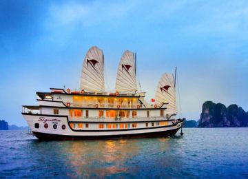 Außenansicht Schiff © Signature Cruise
