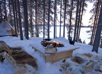 Aurora Safari Camp Schweden Lappland