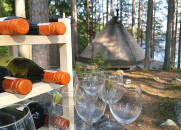 Aurora Safari Camp Lappland Schweden