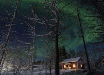 Aurora Safari Camp Schweden Lappland Villa Aurora