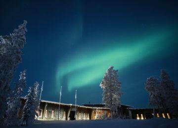 Auroras Octola Private Wilderness Lodge Finnland Polarkreis