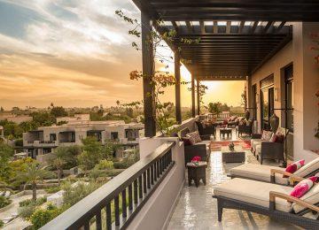 Ausblick Terrasse©Four Seasons Resort Marrakech