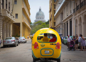 Ausffug im Coco-Taxi Havanna © Tourcom Cuba