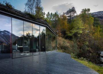 Bathhouse©Juvet Landscape Hotel