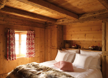 Bedroom-Il-Nido©White Deer San Lorenzo Mountain Lodge