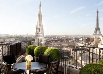 Blick auf Paris Rooftop © Four Seasons