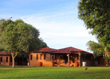 Bungalows Außenbereich Porto Jofre Pantanal Norte