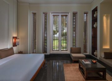 Deluxe Club Terrace Room The Chedi Muscat Hotel Oman Select Luxury Travel