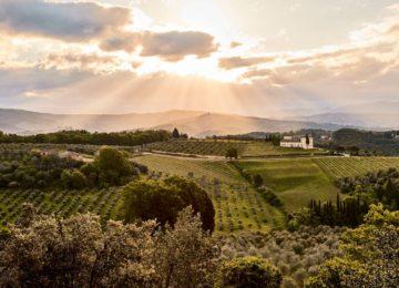 COMO Castello del Nero©Dawn over the Tuscan Landscape