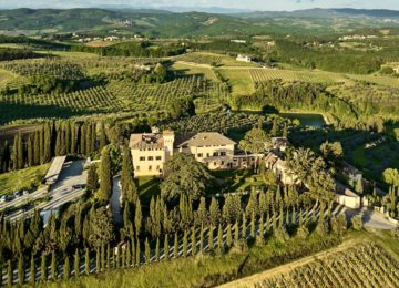 COMO Castello del Nero©in the Tuscan Countryside