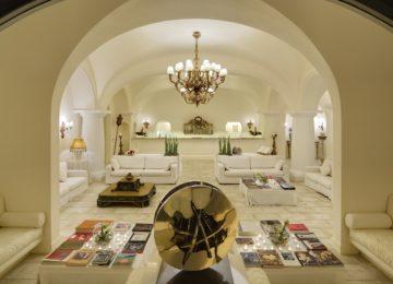 Capri Palace Lobby