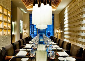 Dining Room Private, The Chedi Muscat Hotel Oman Select Luxury Travel