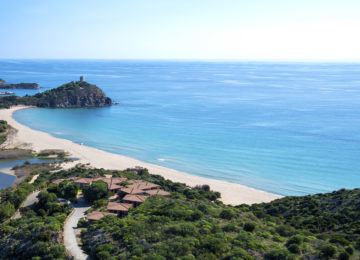 Chia Laguna_Monte Cogoni Beach